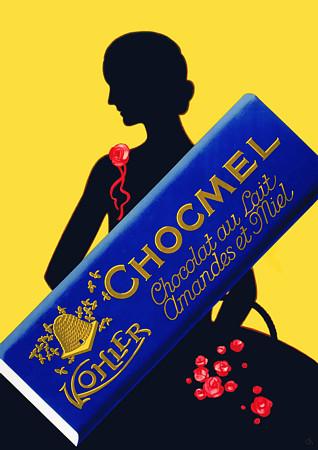 Kohler Chocmel poster by Charles Kuhn, circa 1930