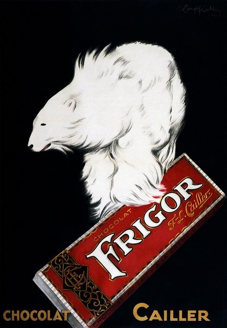 Chocolat Frigor poster by Leonetto Cappiello, France, circa 1929