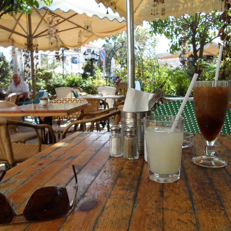 Fattoush Cafe patio view