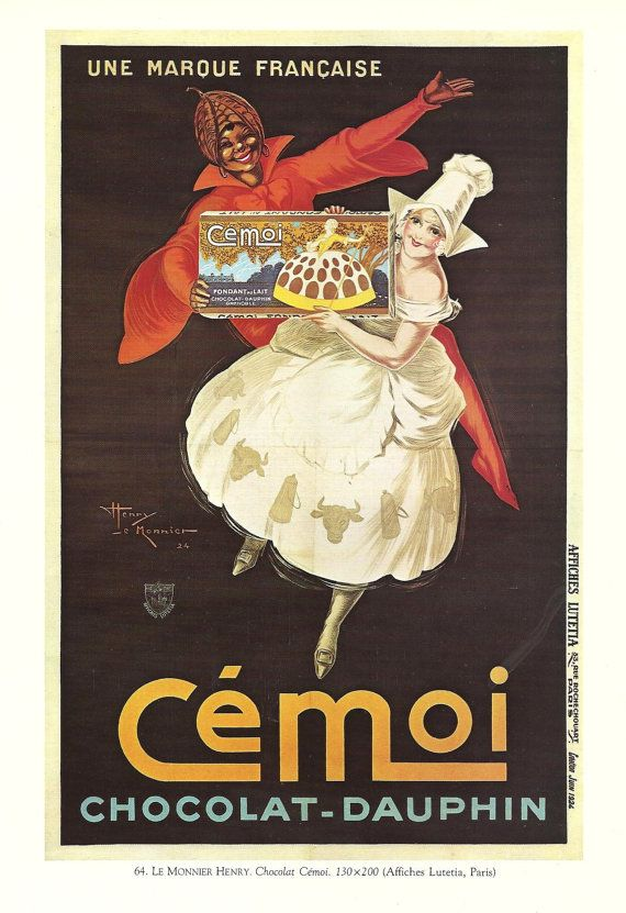 Chocolat Cemoi-Dauphin, Paris, circa 1924