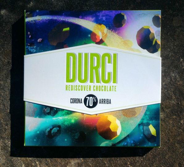 Durci Chocolate Packaging Front