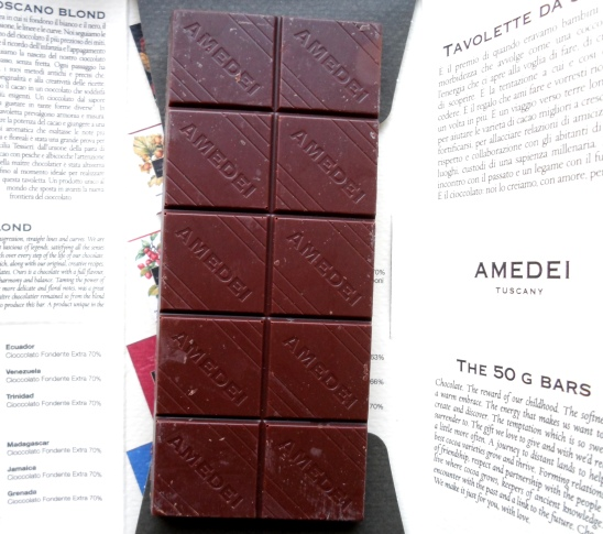 Ademei Tuscany Toscano Blond chocolate bar