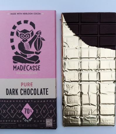 Madecasse Packaging + Chocolate Bar